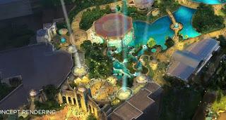 Main Entrance Concept Art Universal's Epic Universe