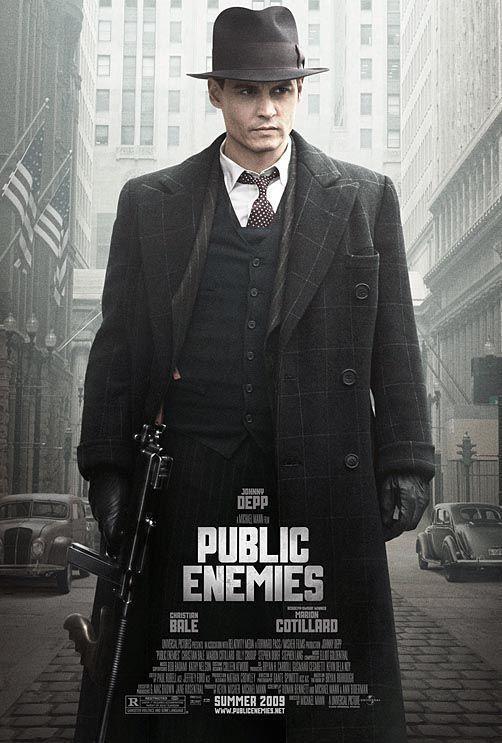 Download Public Enemies (2009) Full Movie in Hindi Dual Audio BluRay 480p [400MB]