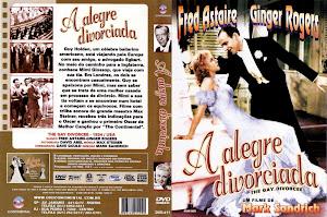 Carátula de la película La alegre divorciada 1934