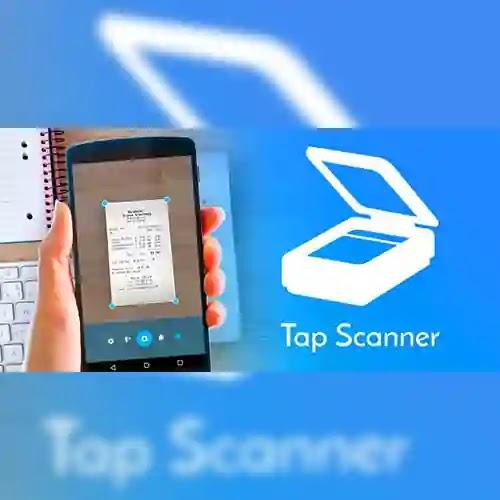برنامج كاميرا سكانر pdf تطبيق TapScanner أداة مفيدة لمسح صفحات الورق أنه يتيح لك إمكانية استخدام كاميرا الهاتف
