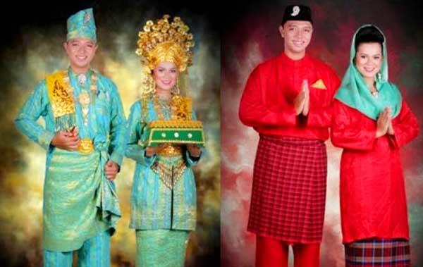 Gambar 2 Jenis Pakaian adat Kepulauan Riau
