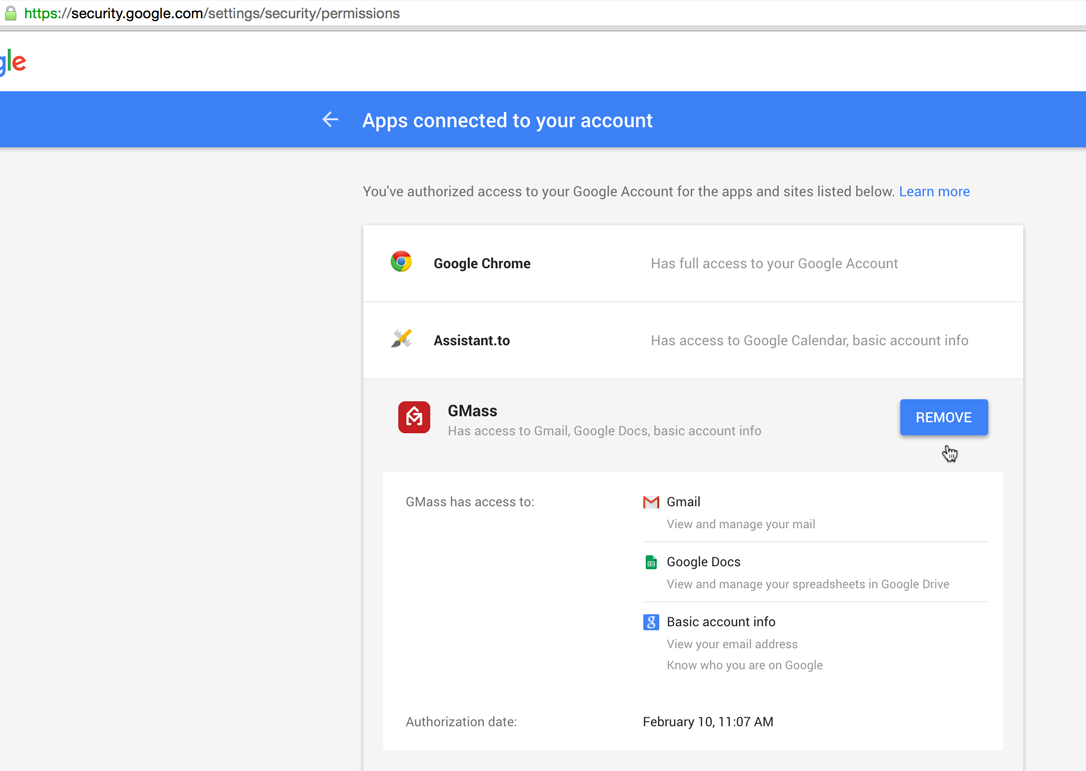 how to get rid of an account on google chrome