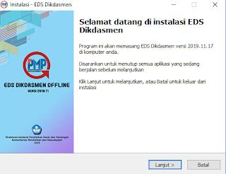 Cara Instal Aplikasi PMP EDS offline