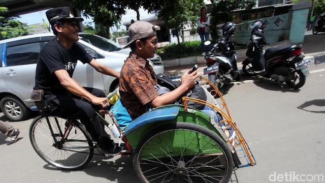 Polisi Siap Bantu Pemprov DKI Cegah Mobilisasi Becak
