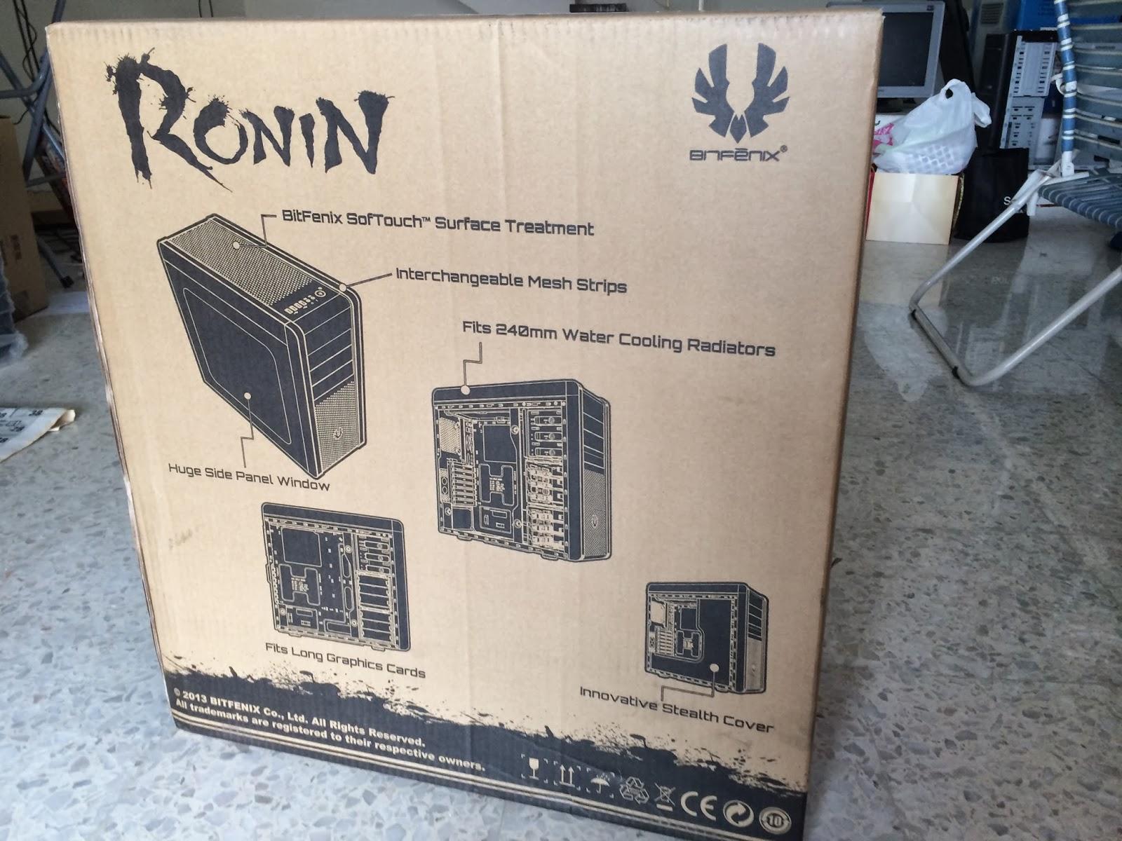 Unboxing & Review: Bitfenix Ronin 103
