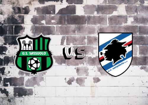 Sassuolo vs Sampdoria  Resumen