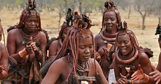 Himba people from Namibia have the most celebrated tradion in Africa