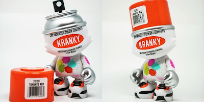 TorontoCollective Exclusive Toronto Red SuperKranky Vinyl Figure by Sket One x Superplastic