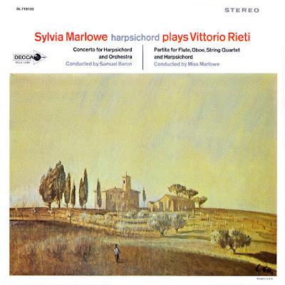 Sylvia Marlowe Plays Vittorio Rieti