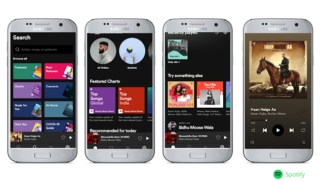 Spotify Best free music streaming app for Android
