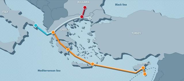 Κατατέθηκε η ΜΠΕ για τον ελληνοϊταλικό αγωγό φυσικού αερίου - Στο Φλωροβούνι Θεσπρωτίας το σημείο προσαιγιάλωσης