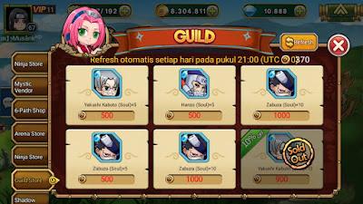 Guild Store Ninja Rebirth_MangtoyPedia