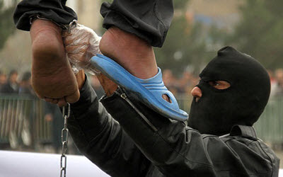 Medieval and barbaric punishments: Public hanging in Iran