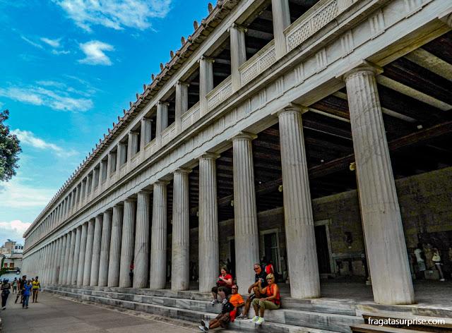 Museu da Ágora Antiga de Atenas, na Estoa de Átalo