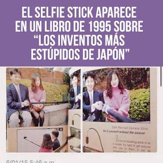 el invento más estúpido el selfie stick