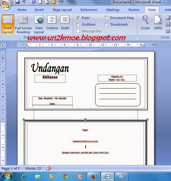 Download Undangan Gratis | Desain Undangan Pernikahan
