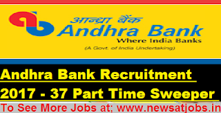 Andhra-Bank-Recruitment-37-Part-Time-Sweeper-Vacancy