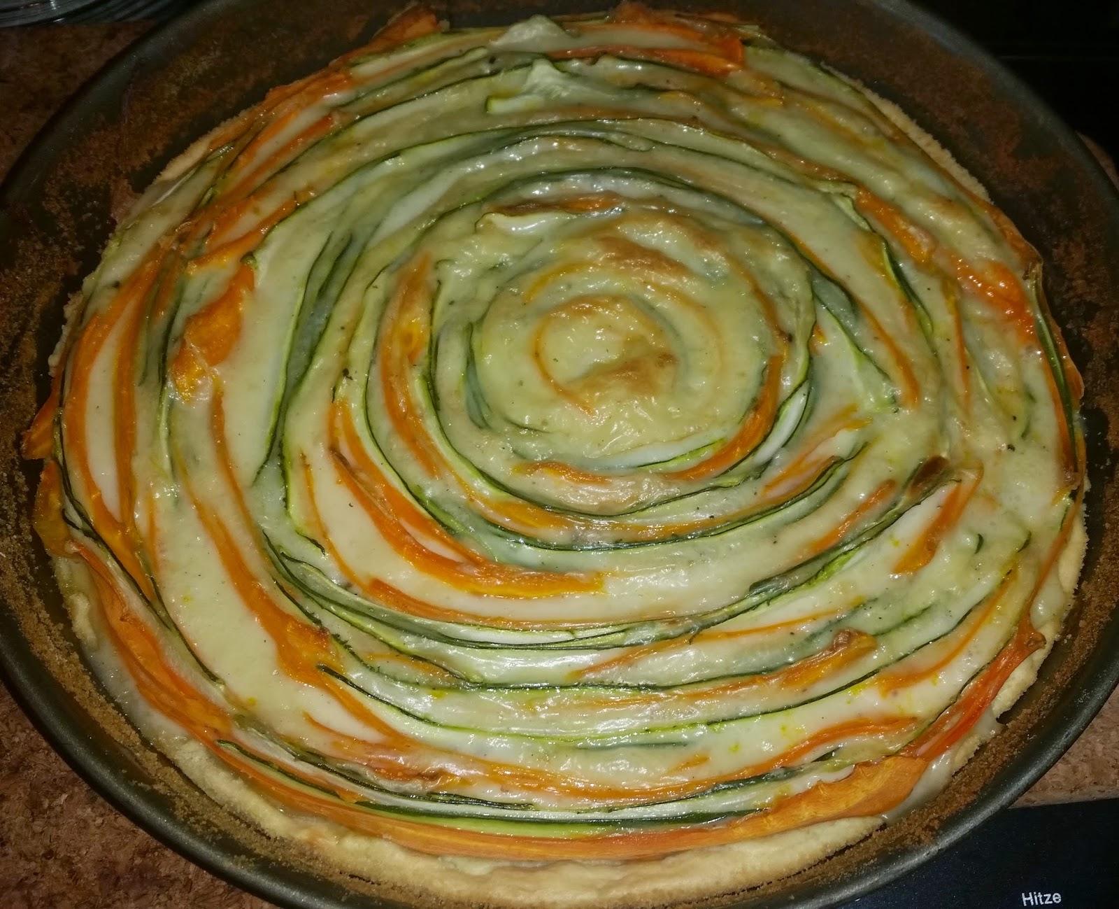 Sandy S Kitchendreams Karotten Zucchini Tarte