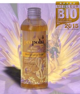 propolis cheveux shampoing bio abeilles