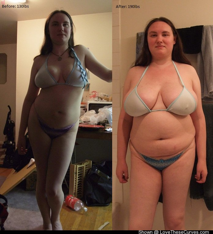 Chubby girl naked weight gain naked