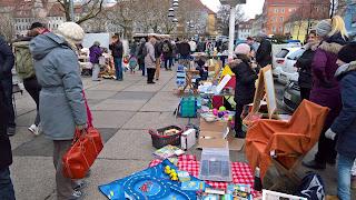 Trödelmärkte im Jenaer Stadtzentrum