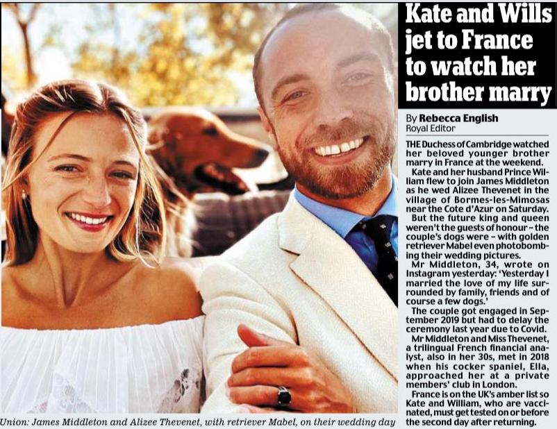 James Middleton ożenił się! + więcej