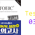 Listening New TOEIC Ending - Test 03