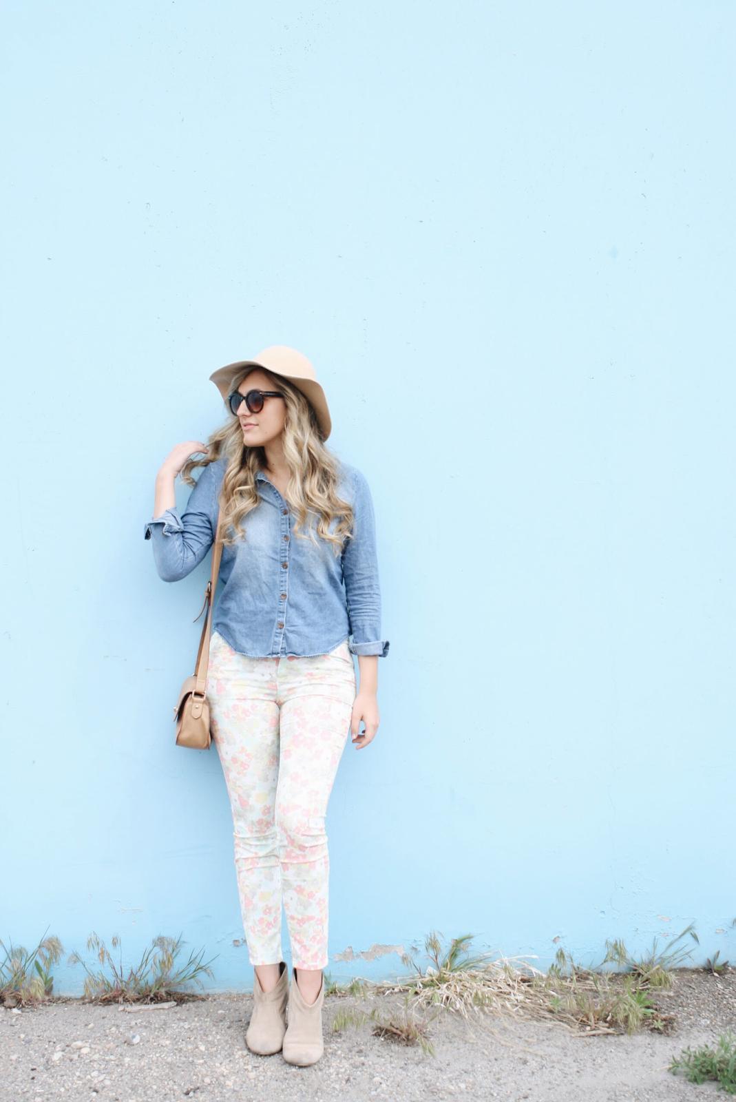 floral-jeans