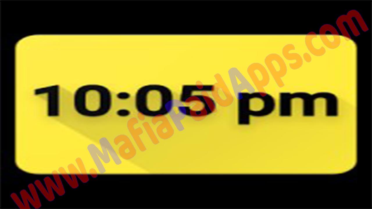 Digital Clock Live Wallpaper - Unique & Minima v1 7 Apk for