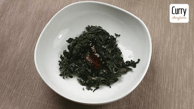 Spinach Pachadi