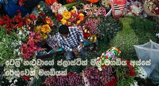 Customs' fraud via tele-actor's trickery of plastic flowers