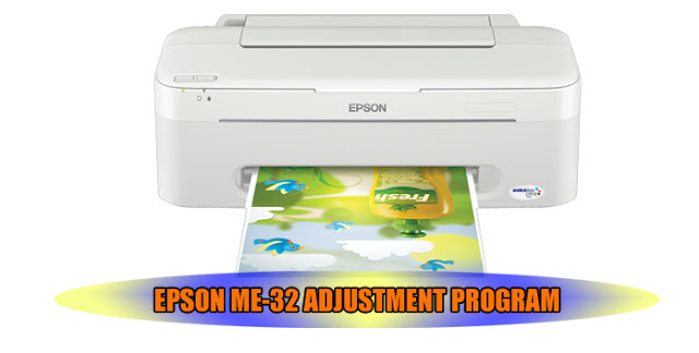 EPSON ME-32 PRINTER ADJUSTMENT PROGRAM