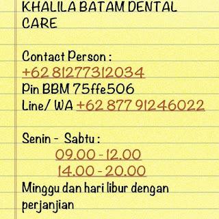 Wirausaha Batam Klinik Gigi Khalila Batam Dental Care