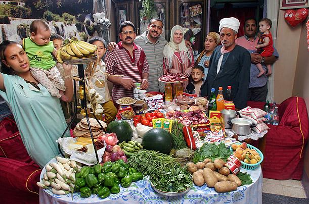 família egipto