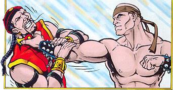 Il Grande Kung Lao sconfigge Shang Tsung.