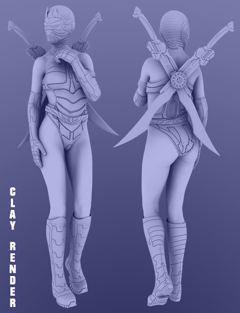Autumn Soldier for Genesis 8 Female