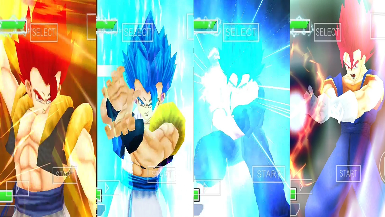 Gogeta Blue And Vegito Blue