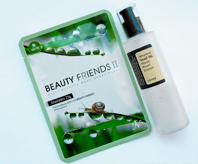 Beauty Friends II by Vanedo - Snail 23gr + COSRX Snail Avance 96 face essence