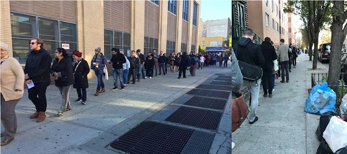 Dominicanos votan masivamente en elecciones a la Casa Blanca; reportan problemas en centros