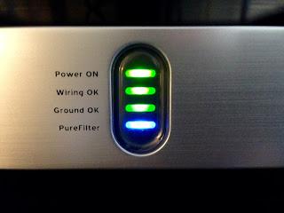 Power Conditioner Status Panel