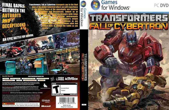 Transformers The Fall of Cybertron - Game PC Desktop
