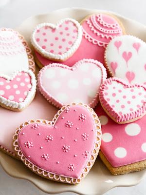 Receta de galletas para San Valentín