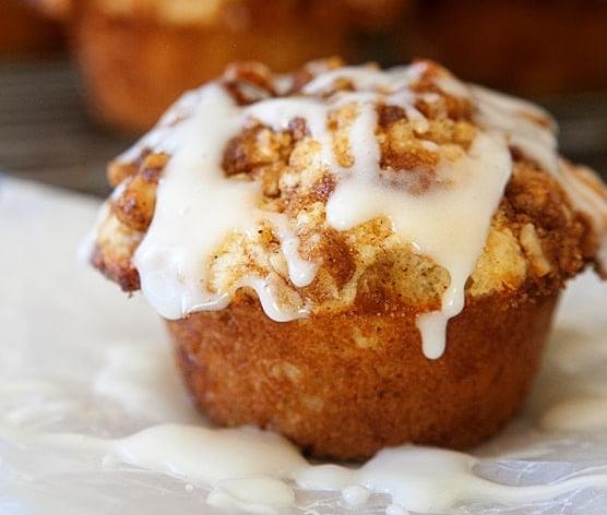 CINNAMON ROLL MUFFINS #healthydiet #muffins #cinnamon #rolls #diet