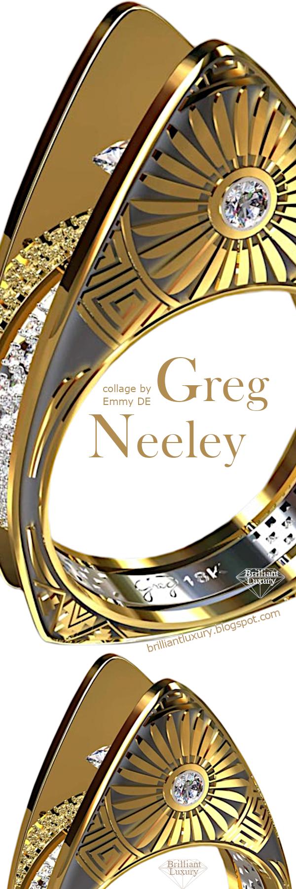 ♦Greg Neeley Hopi Pottery Ladies Diamond Ring #gregneeley #jewelry #brilliantluxuryry