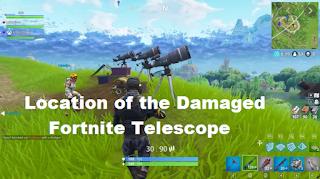 Telescopes fortnite - Where Fixing Broken Telescope in Chapter 2 Season 6