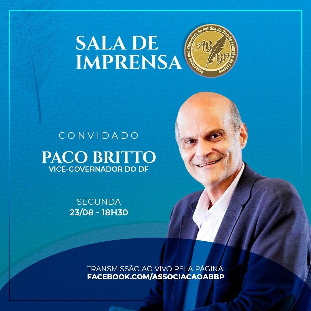 Paco Britto é o convidado da Sala de Imprensa da ABBP