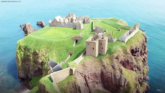 Dunnottar Castle (Stonehaven, Scotland).