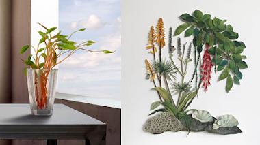 'Paraísos vegetales', la botánica como concepto y materia de la obra de arte