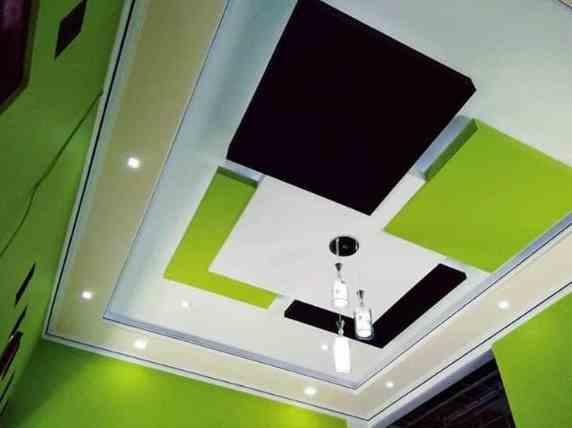 Ruangan Tengah rumah Minimalis Type 36 Dengan Plafon
