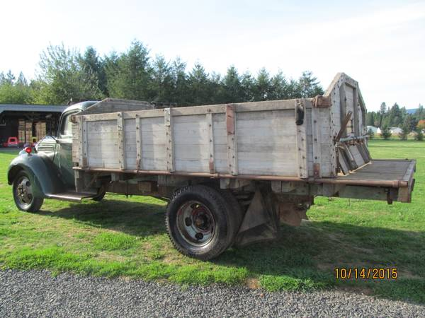 1956 Chevy Pickup For Sale Craigslist >> Barn Find, 1939 Ford Farm Truck - Old Truck